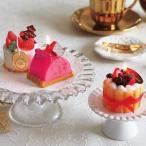 キャンドル クリスマス ドルチェキャンドル スイーツキャンドル ( クリスマスキャンドル ケーキキャンドル ろうそく ロウソク )