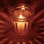 キャンドルホルダー キャンドルグラス ガラス製 フルーティッドグラス ( キャンドルスタンド ろうそく立て アロマ 香り キャンドル )