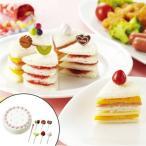 食パン抜き型 ケーキセット ( キャラ弁 食パン 抜き型 )