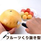 デコレーションナイフ&フルーツボーラー フルーツデコレーター フルーツくり抜き器 ( マウンテンカッター 飾り切りナイフ )