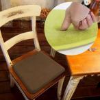 ショッピング椅子 低反発 チェアパット 角型 ( 低反発 ウレタン 椅子 クッション )