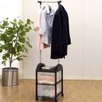 パイプハンガー 衣装ケース ハンガーボックス 2S型 キャスター付 組み立て式 ( 収納ボックス 収納 プラスチック 収納ケース )