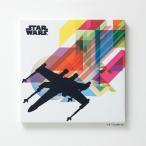 スターウォーズ スミノエ STAR WARS ファブリックパネル X-WING レインボー ( スターウォーズシリーズ インテリア 壁掛け )