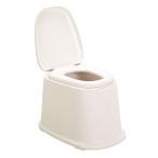 ポータブルトイレ 洋式便座 据置型 ( 介護用トイレ 福祉 介護 排泄関連用品 )