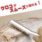うろこ取り 魚の鱗とり ステンレス製 ( ウロコ取り 鱗取り キッチンツール )