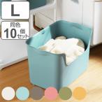 収納ボックス カタス L カラーボックス インナーボックス 引き出し 同色10個セット ( 収納ケース 収納 プラスチック ケース ボックス )