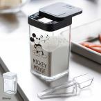 小麦粉&スパイスボトル ミッキー ホワイト Disney ディズニー スパイスボトル 小麦粉 ミッキーマウス ブラック クリア 90026