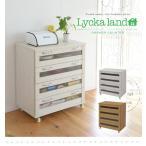 Lycka land カントリー調のおしゃれな食器棚