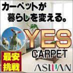 シャギーラグ - カーペット 激安 毛100% ウールアスワンカーペット本間12畳(382×572cm)切りっ放しのジャストサイズ:アスグラッツ/GLT