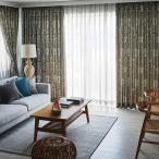 最高級オーダーカーテンfilo filo縫製 約2.3倍ヒダ いちご泥棒 FF1008〜1011
