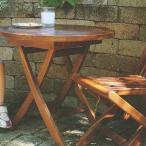 ジャービス商事 MINI SERIES MINI MANGO TABLE ミニシリーズ ミニマンゴーテーブル チーク/ロートアイアン 無塗装 34229 1台