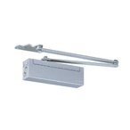 日本ドアチェック製造 ニュースター ドアクローザ パラレル型 ストップ付 PS-2002 ドア重量45kg以下 適用ドア寸法900×2100