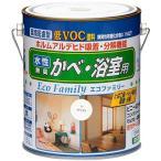 ニッペ 水性 エコファミリー ビニル壁紙、浴室用 塗料 1.6L