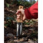 仁作 山刀 木柄つば付 NO.802 和式サバイバルナイフ 掘る用 園芸用
