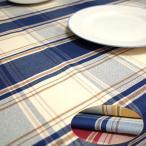 ショッピングテーブル テーブルクロス 北欧 撥水 チェック サイズ 140×230cm 6人掛けのテーブルクロス