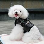 ハーネス 小型犬 猫 リード セット 天使 悪魔 羽付き スパンコール 胴輪 安全帯 散歩 ペット