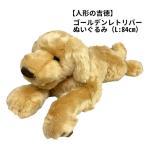 急きょ再入荷! ゴールデンレトリバー ぬいぐるみ 犬 特大 ビッグサイズ Lサイズ84cm (人形の吉徳製)