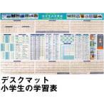 ショッピング学習机 学習机マット 学習デスクマット デスクマット 小学生の学習表・85×51cm 裏面未来のお仕事マップ