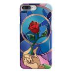 【 国内未発売 】 ディズニー 美女と野獣 一輪の赤いバラ iPhone ケース