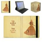 【 国内未発売 】 ディズニー プリンセス 美女と野獣 ベル シルエットデザイン iPad / iPad-mini ケース