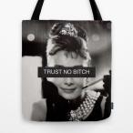 【 国内未発売 】 ソサエティシックス Society6 Audrey Hepburn オードリー・ヘップバーン トートバッグ