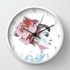 【 国内未発売 】 ソサエティシックス Society6 Audrey Hepburn オードリー・ヘップバーン 掛け時計