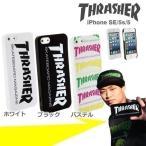 iphone SE iphone5s ケース THRASHER スラッシャー ブランド アイフォン5s アイフォン5 ハード スマホケース
