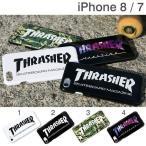 iPhone8 アイフォン8 ケース iPhone7 アイフォン7 ケース カバー THRASHER スラッシャー ハードケース スマホケース メンズ アイフォンケース