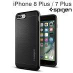 iPhone8Plus iPhone7Plus アイフォン7 プラス アイホン7 プラス Spigen シュピゲン iPhoneケース Neo Hybrid  Gunmetal ガンメタル