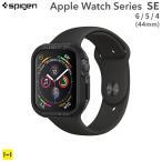 Apple Watch 4 ケース Apple Watch カバー アップルウォッチ ケース TPU Spigen シュピゲン ケース 44mm ブラック