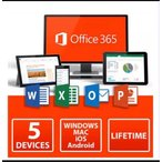 Microsoft365 旧称Office365 マイクロソフト公式サイトからの安心安全 ダウンロード版 PC5台+MAC5台+モバイル5台 日本語 32bit 64bit対応 正規保証