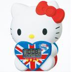 セイコー SEIKO JF801A 目覚まし時計 ハローキティ デジタル アラーム カレンダー 温度計 スヌーズ メロディ