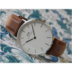 ダニエル ウェリントン DANIEL WELLINGTON 腕時計 DW00100112 DW00600112 CLASSIC 36mm DURHAM S WHITE
