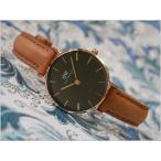 ダニエル ウェリントン DANIEL WELLINGTON 腕時計 DW00100222 DW00600222 PETITE 28mm DURHAM RG BLACK