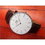 ダニエル ウェリントン DANIEL WELLINGTON 腕時計 DW00100023 DW00600023 シルバー 40mm CLASSIC BRISTOL クラシック ブリストル 0209DW