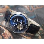 ツェッペリン ZEPPELIN 腕時計 7364-3 フラットライン 自動巻 40MM レザーベルト