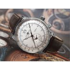 ツェッペリン ZEPPELIN 腕時計 7640-1N 100周年記念 クォーツ 42MM レザーベルト