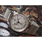 ツェッペリン ZEPPELIN 腕時計 7690M-1 100周年記念 クォーツ 42MM メタルベルト
