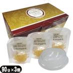 ゼリー石けん banabeo(バナベオ) ゴールデンハイドロゲルリッチソープ(Golden hydrogel rich soap) 90gx3個入(ソープトレー付)