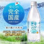 炭酸水 国産 蛍の郷の天然水 スパークリングウォーター 天然水使用 強炭酸水 プレーン 500ml×48本 まとめ買い