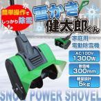 除雪機 電動 小型 家庭用 電動除雪機 雪かき健太郎くん QT3100