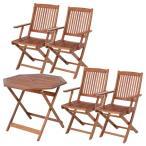 テーブル セット 北欧 家具 安い 椅子 木製 5点セット 八角テーブル 90cm (肘付) #GC92JP×4脚