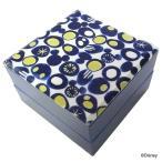 ショッピング重箱 重箱 おしゃれ ファミリー 2段 ミッキー ディズニー キャラクター 子ども 子供 布貼重箱 密丸 15350 ヤクセル