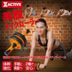 腹筋器具 腹筋ローラー 美腹メイクローラー 引き締め HIROコーポレーション 腹筋運動器具 ダイエット 背筋 二の腕 脚 シェイプアップ
