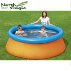 ビニールプール プール 子供 キッズ レジャー 排水バルブ付 ノースイーグル 3D アドベンチャープール NE984 子供用
