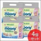 ショッピングカシミア ムーニー おしりふき やわらか素材 つめかえ用 80枚×8個 4個セット