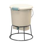 生ごみ処理機 家庭用 肥料 液肥 コンポスト 生ゴミ発酵器(18L)+発酵促進剤セット EM-18 アイリスオーヤマ