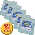 (5個セット)保冷剤ハード 急速冷却タイプ(Lサイズ) CKB-800M (まとめ割 まとめ買い/アイリスオーヤマ)