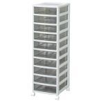 レターケース オフィスチェスト 収納 中型10段 OCE-1000R オフィス用品 クリアチェスト アイリスオーヤマ