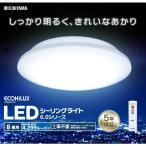 シーリングライト LED  8畳 アイリスオーヤマ 天井照明 薄型 おしゃれ 照明 リモコン調光 メタルサーキット(あすつく)